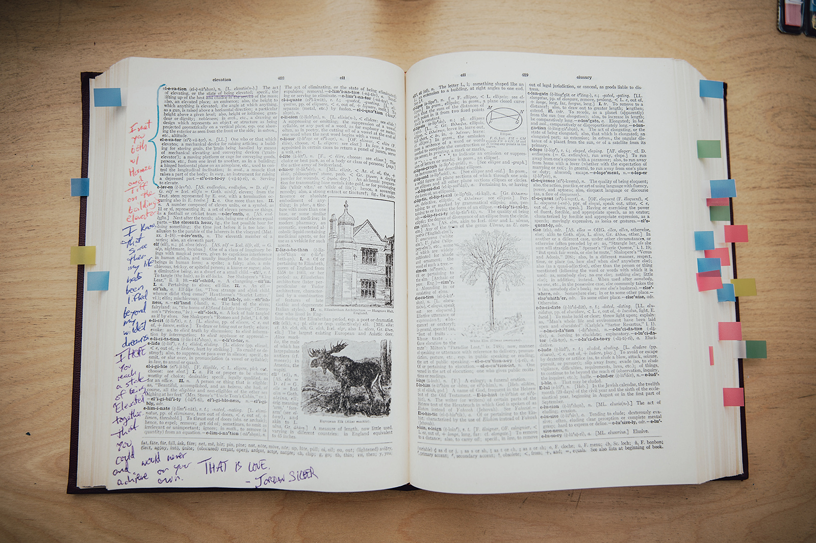 Dictionary Guest Book