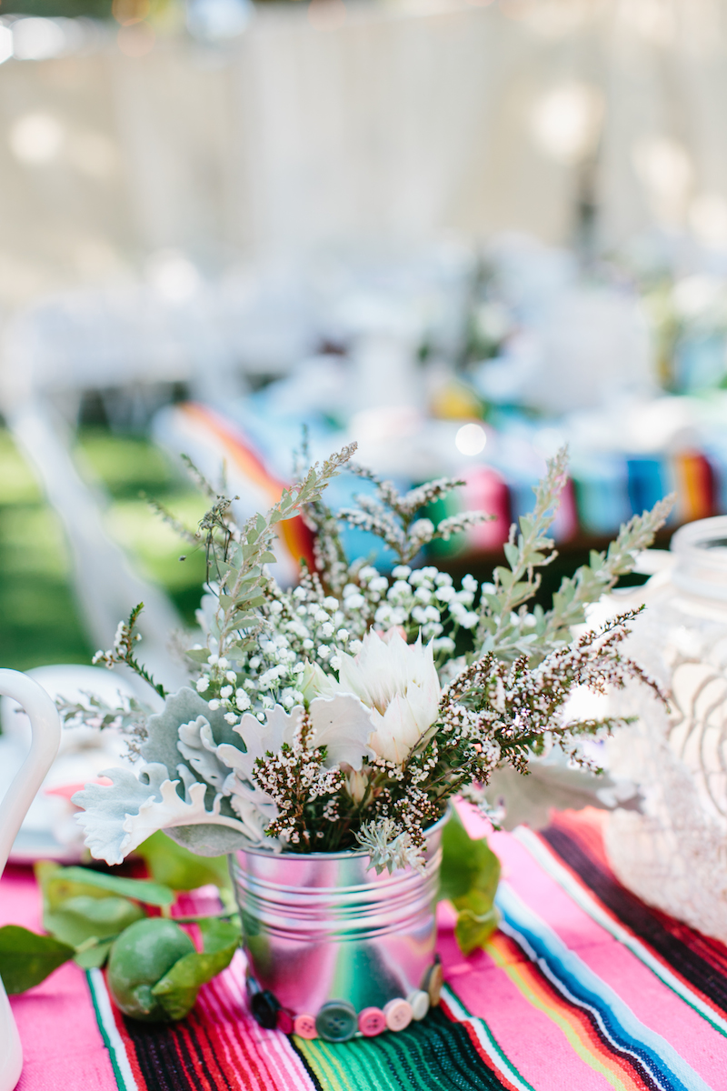 Boho Chic Reception Table