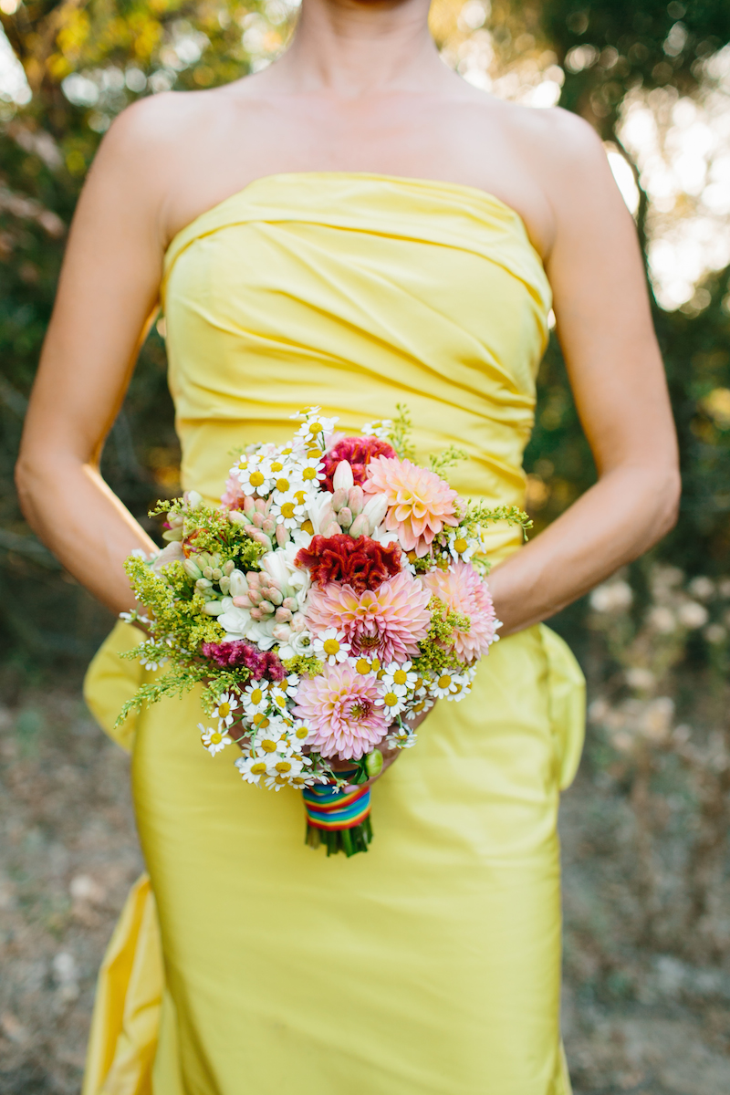 Gorgeous Yellow Wedding Dress