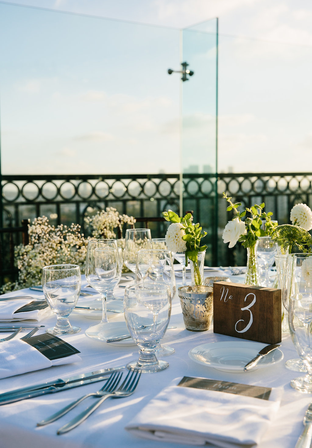 London West Hollywood Rooftop Reception